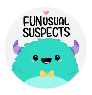 FunUsual Suspects T-shirt Shop Logo