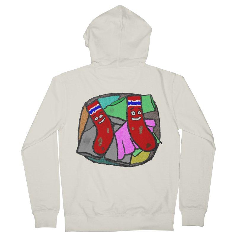 Lefty and Ron Men's Zip-Up Hoody by funwithstuff's Artist Shop