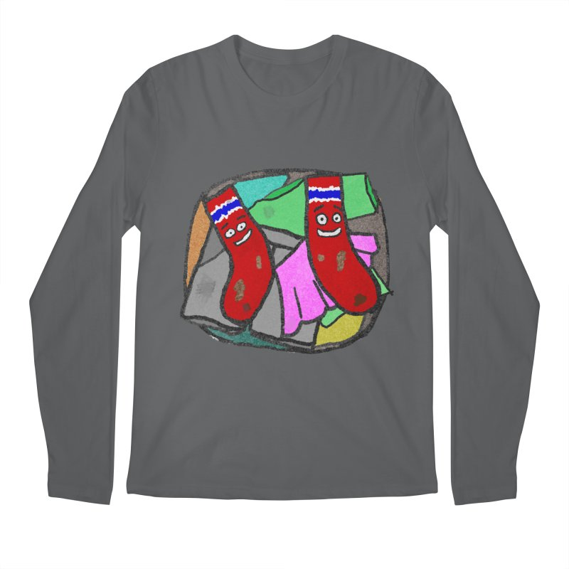 Lefty and Ron Men's Longsleeve T-Shirt by funwithstuff's Artist Shop