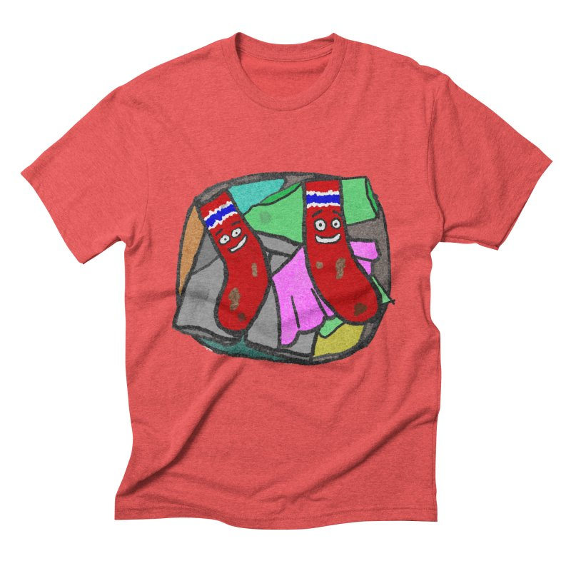 Lefty and Ron Men's Triblend T-Shirt by funwithstuff's Artist Shop