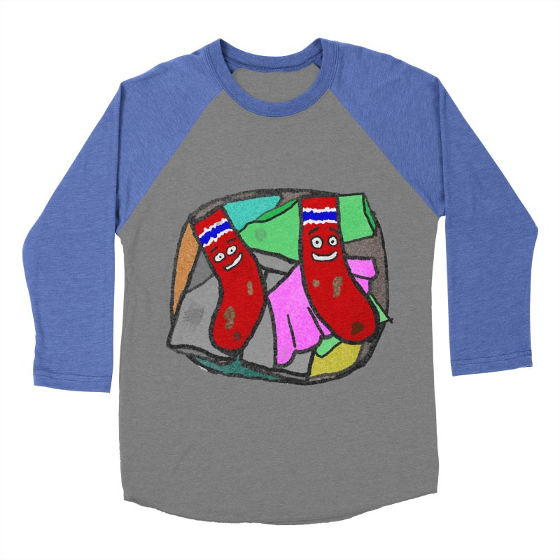 Lefty and Ron Women's Baseball Triblend T-Shirt by funwithstuff's Artist Shop