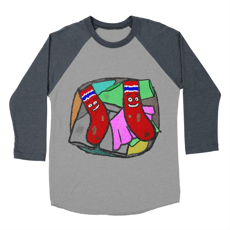 Lefty and Ron Men's Baseball Triblend T-Shirt by funwithstuff's Artist Shop