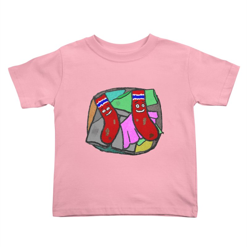 Lefty and Ron Kids Toddler T-Shirt by funwithstuff's Artist Shop