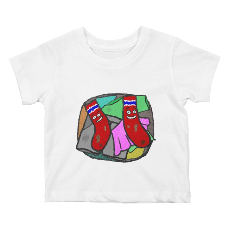 Lefty and Ron Kids Baby T-Shirt by funwithstuff's Artist Shop
