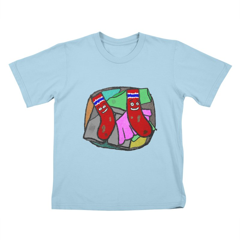 Lefty and Ron Kids T-shirt by funwithstuff's Artist Shop