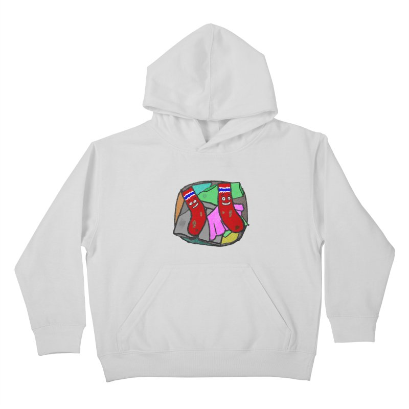 Lefty and Ron Kids Pullover Hoody by funwithstuff's Artist Shop