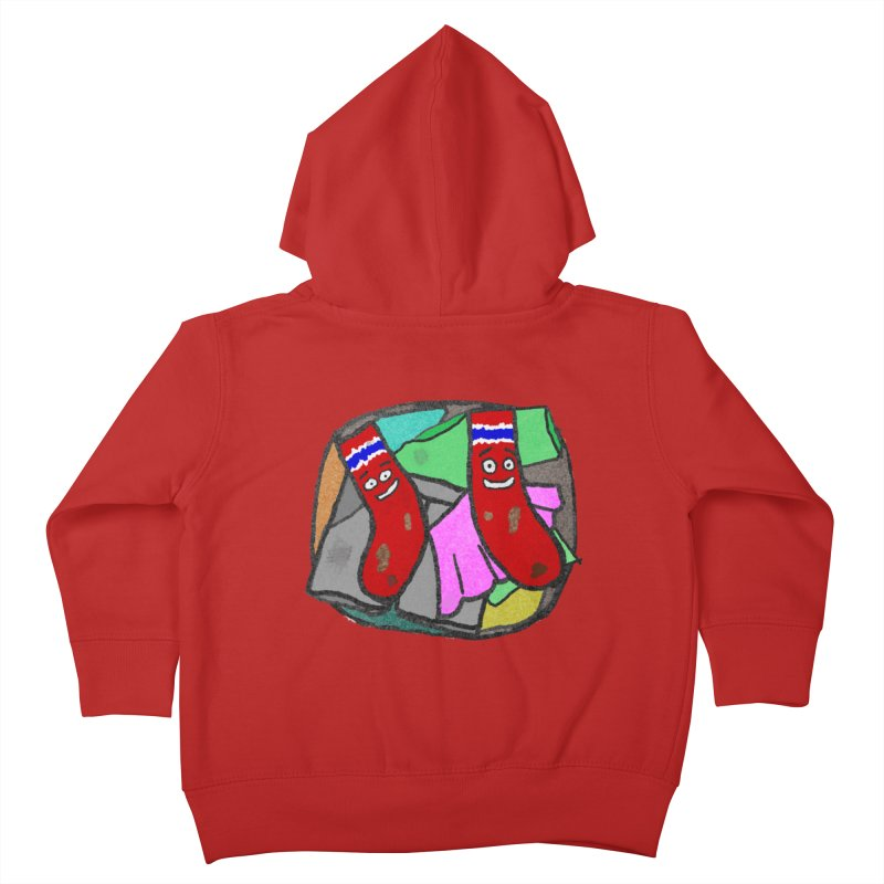 Lefty and Ron Kids Toddler Zip-Up Hoody by funwithstuff's Artist Shop