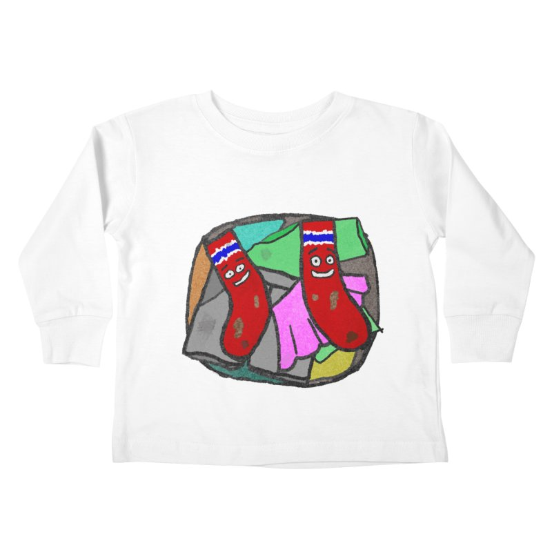 Lefty and Ron Kids Toddler Longsleeve T-Shirt by funwithstuff's Artist Shop