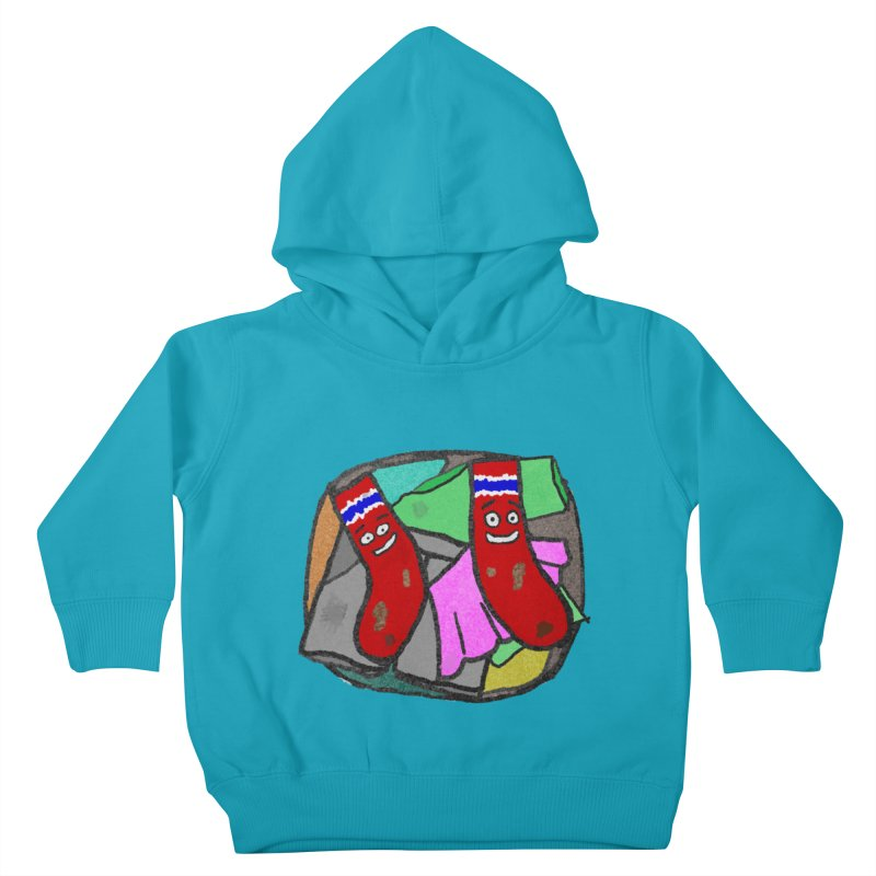 Lefty and Ron Kids Toddler Pullover Hoody by funwithstuff's Artist Shop