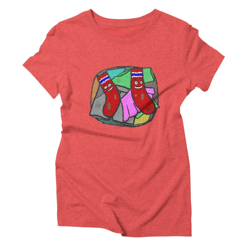 Lefty and Ron Women's Triblend T-shirt by funwithstuff's Artist Shop