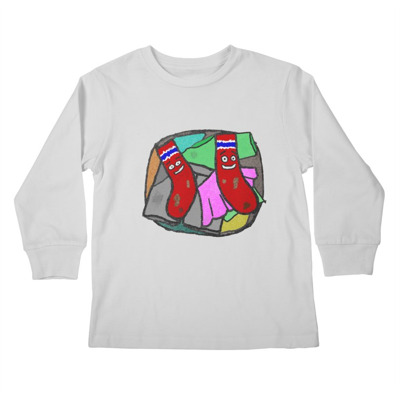 Lefty and Ron Kids Longsleeve T-Shirt by funwithstuff's Artist Shop