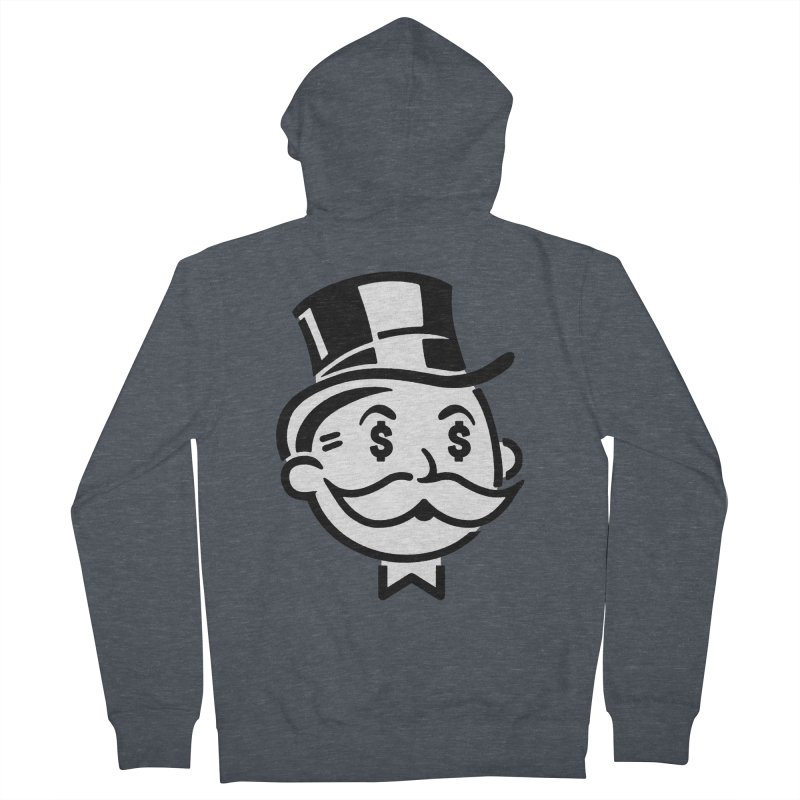 Another Day - Another Dollar Men's Zip-Up Hoody by Famous When Dead's Shop