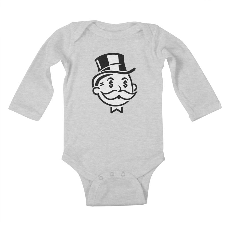 Another Day - Another Dollar Kids Baby Longsleeve Bodysuit by Famous When Dead's Shop