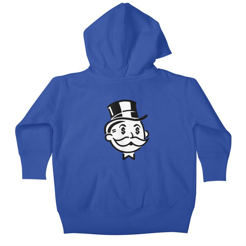Another Day - Another Dollar Kids Baby Zip-Up Hoody by Famous When Dead's Shop