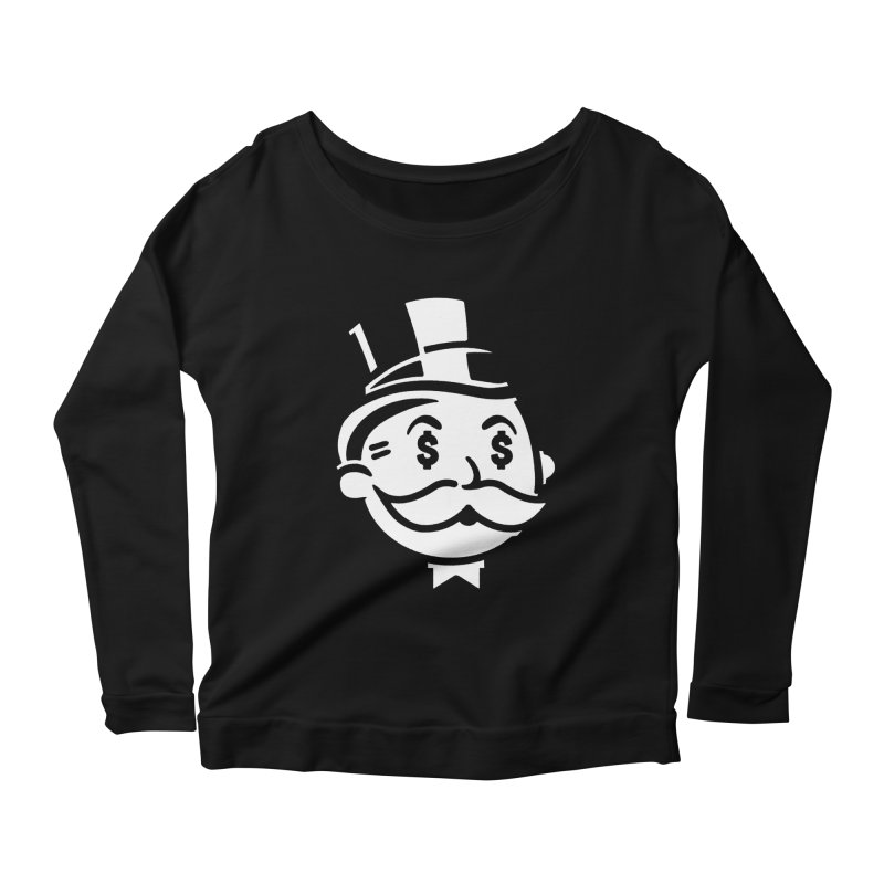 Another Day - Another Dollar Women's Longsleeve Scoopneck  by Famous When Dead's Shop