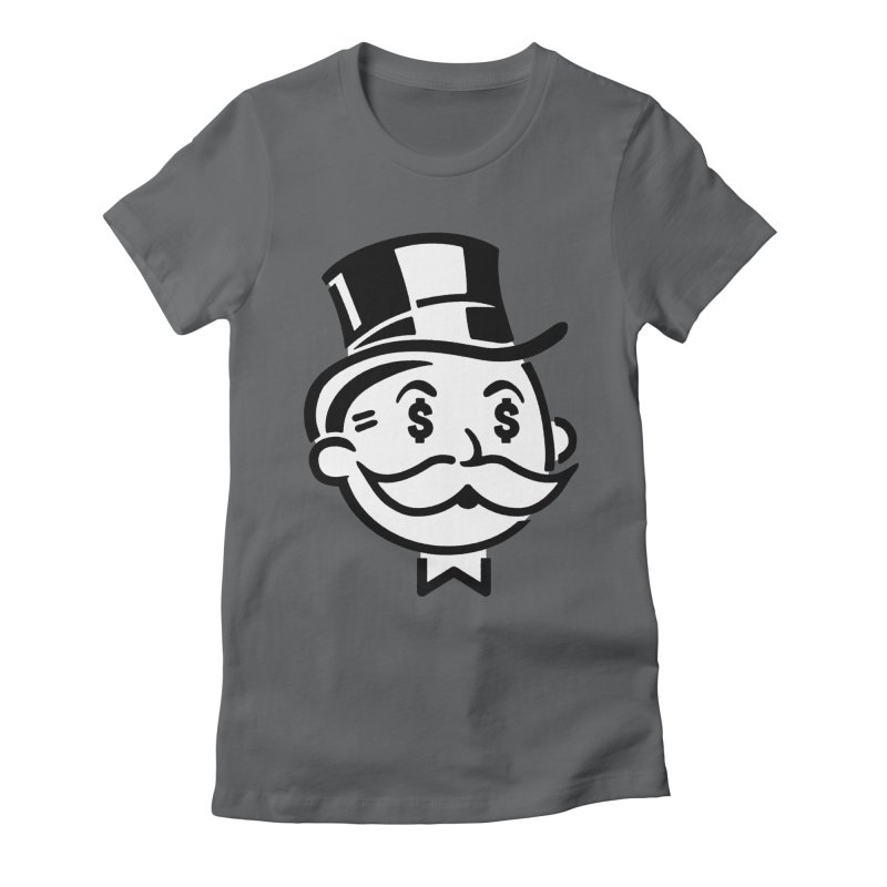 Another Day - Another Dollar Women's Fitted T-Shirt by Famous When Dead's Shop