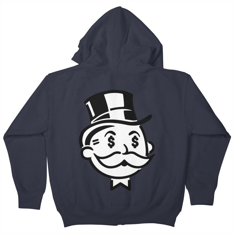 Another Day - Another Dollar Kids Zip-Up Hoody by Famous When Dead's Shop