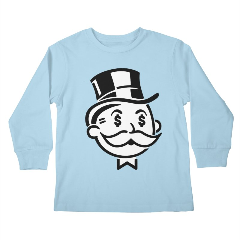 Another Day - Another Dollar Kids Longsleeve T-Shirt by Famous When Dead's Shop