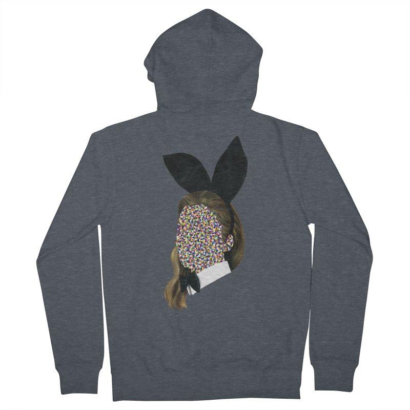 Playboy Bunny Girl Men's Zip-Up Hoody by Famous When Dead's Shop