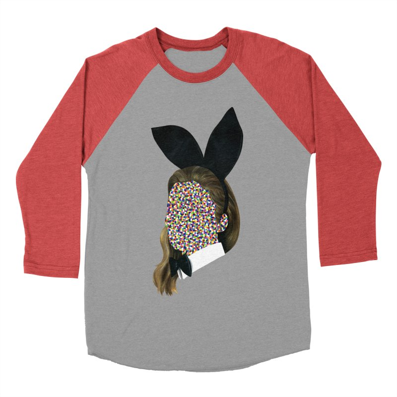 Playboy Bunny Girl Men's Baseball Triblend T-Shirt by Famous When Dead's Shop