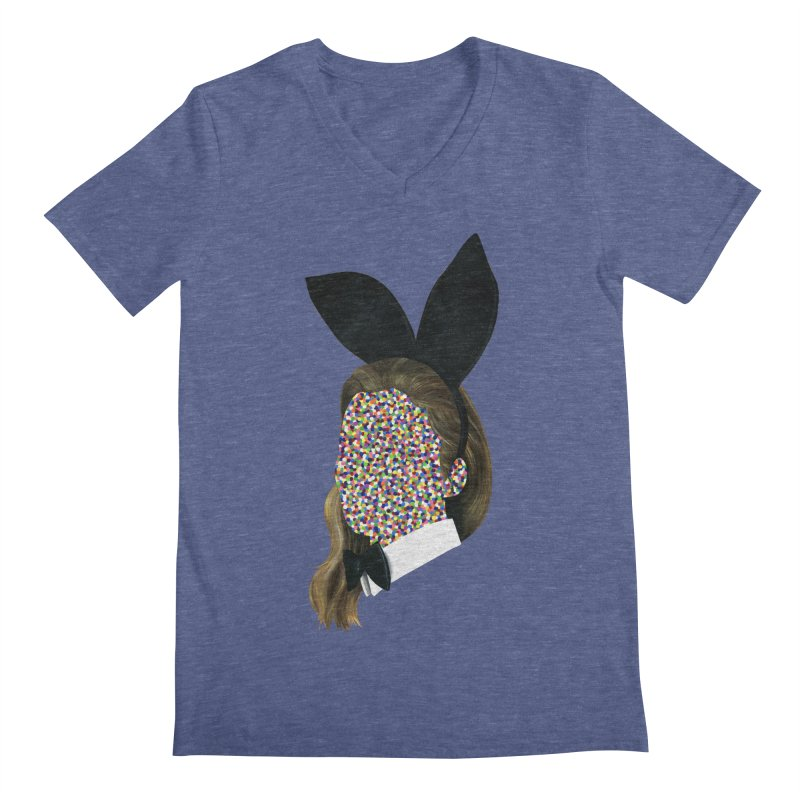 Playboy Bunny Girl Men's V-Neck by Famous When Dead's Shop
