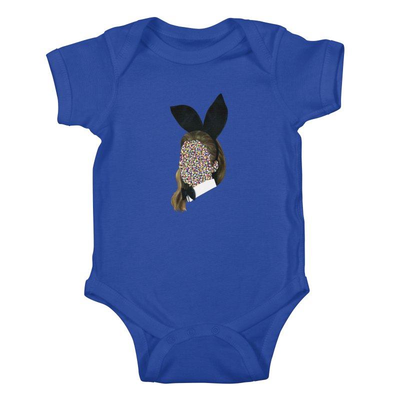 Playboy Bunny Girl Kids Baby Bodysuit by Famous When Dead's Shop