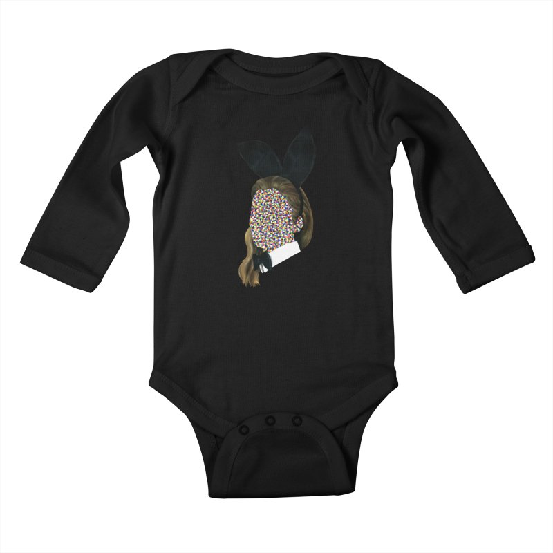 Playboy Bunny Girl Kids Baby Longsleeve Bodysuit by Famous When Dead's Shop