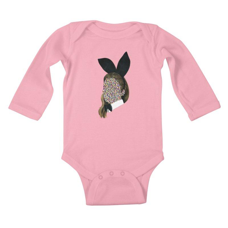 Playboy Bunny Girl Kids Baby Longsleeve Bodysuit by Famous When Dead's Shop