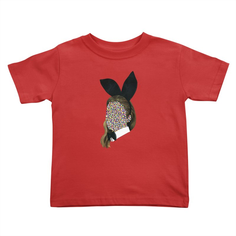 Playboy Bunny Girl Kids Toddler T-Shirt by Famous When Dead's Shop