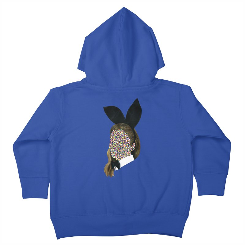 Playboy Bunny Girl Kids Toddler Zip-Up Hoody by Famous When Dead's Shop