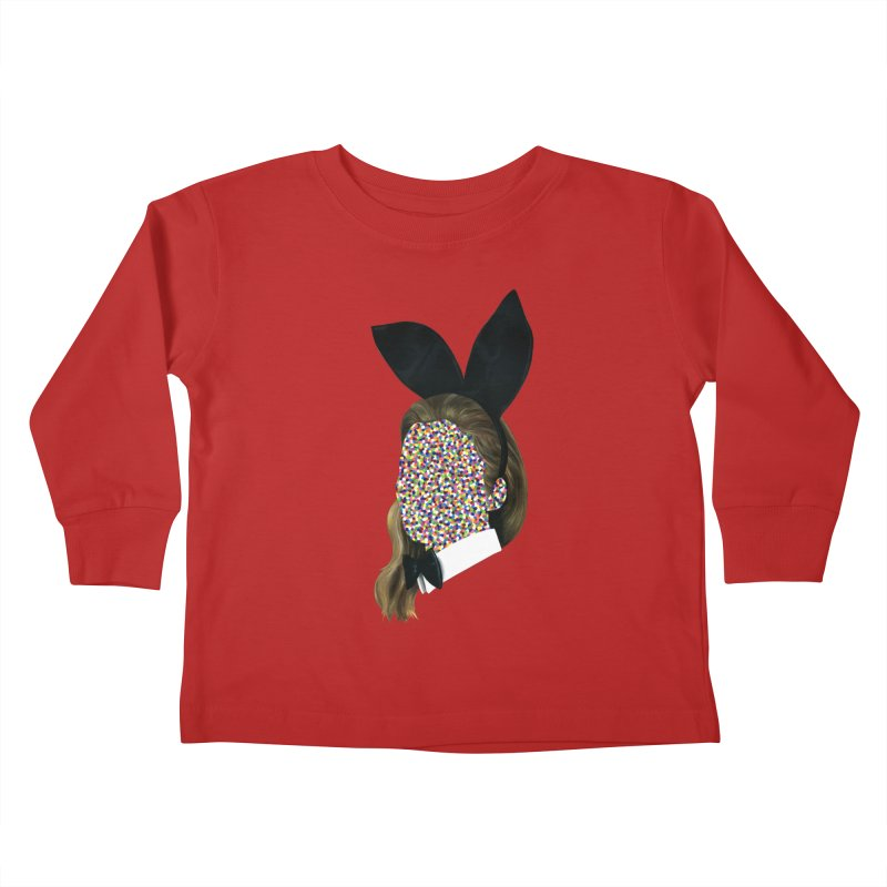 Playboy Bunny Girl Kids Toddler Longsleeve T-Shirt by Famous When Dead's Shop