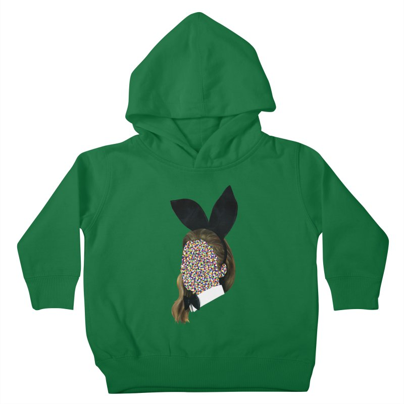Playboy Bunny Girl Kids Toddler Pullover Hoody by Famous When Dead's Shop