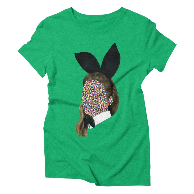 Playboy Bunny Girl Women's Triblend T-Shirt by Famous When Dead's Shop