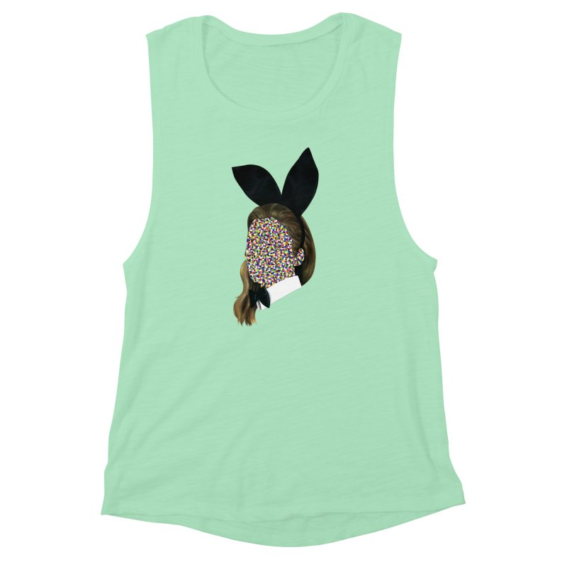 Playboy Bunny Girl Women's Muscle Tank by Famous When Dead's Shop