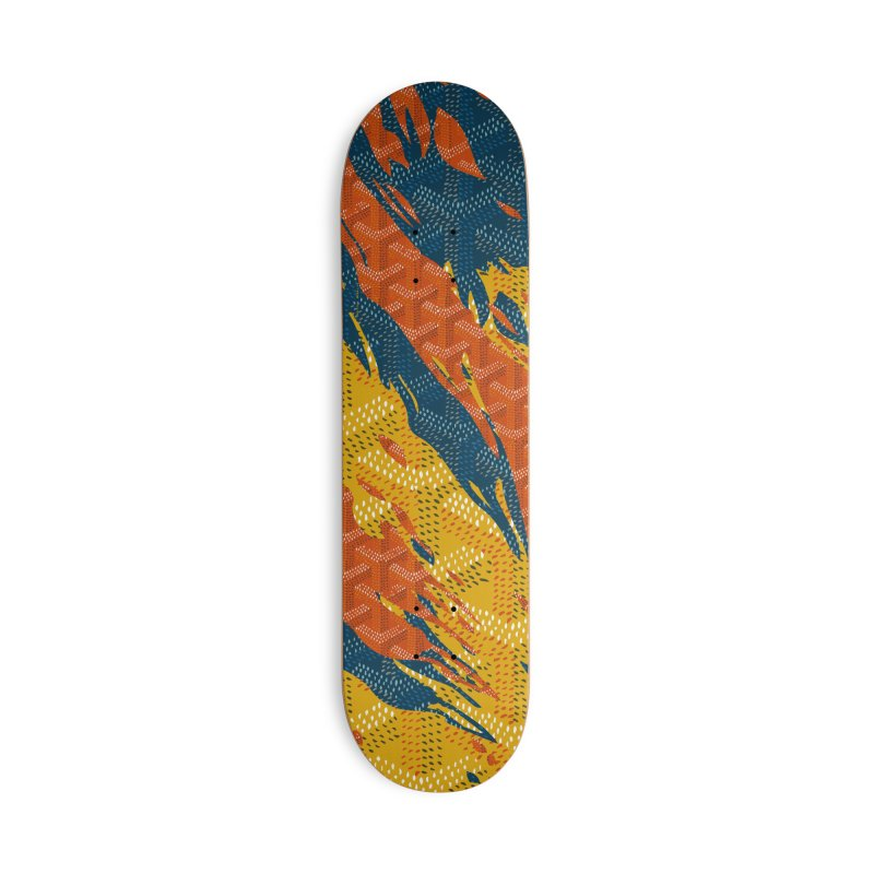 New 'Yard Camo Accessories Deck Only Skateboard by FWMJ's Shop