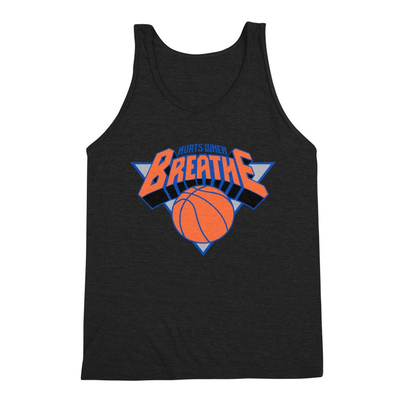 Hurts When Breathe Men's Triblend Tank by FWMJ's Shop