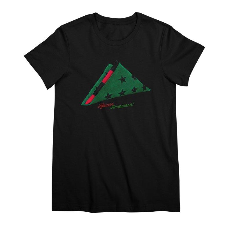 Black Flag Women's Premium T-Shirt by FWMJ's Shop