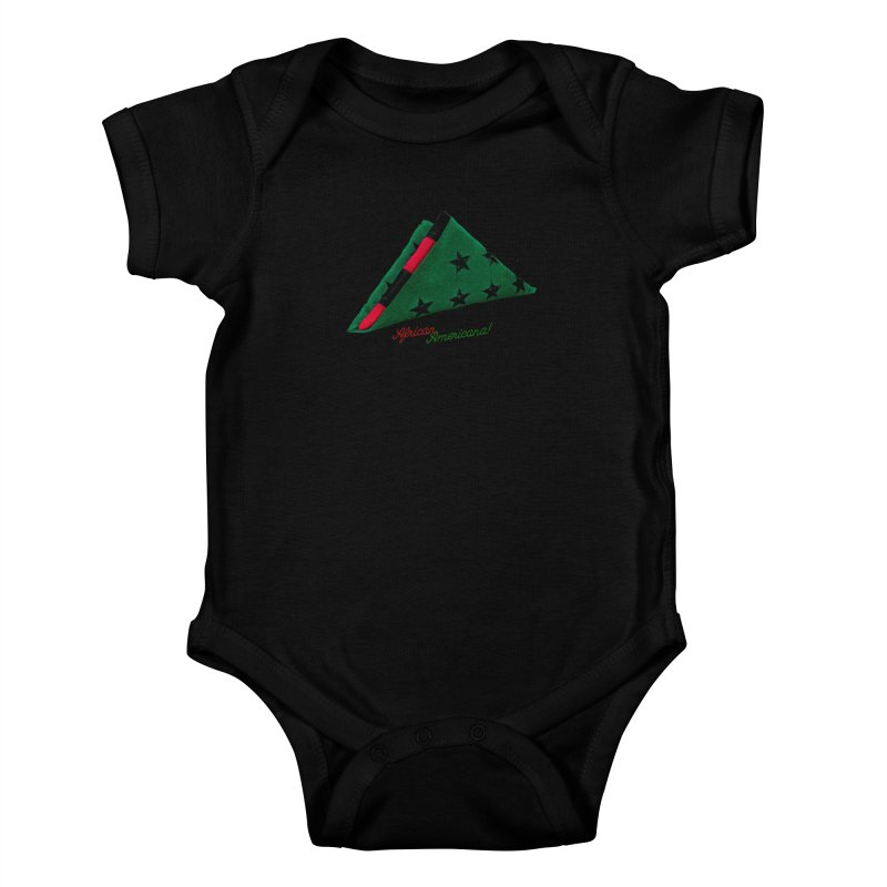 Black Flag Kids Baby Bodysuit by FWMJ's Shop