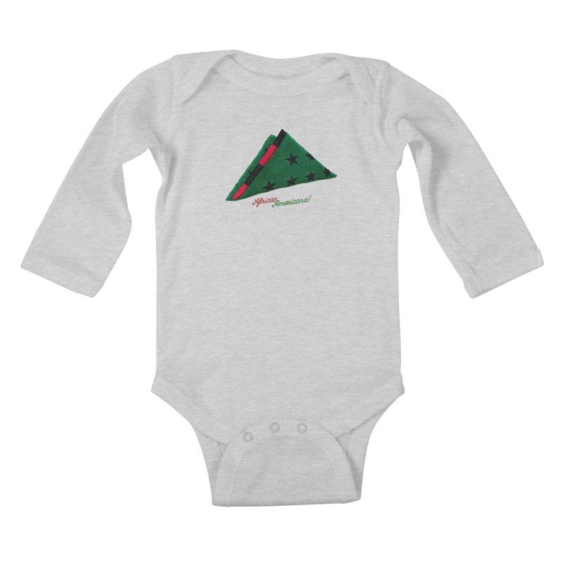 Black Flag Kids Baby Longsleeve Bodysuit by FWMJ's Shop