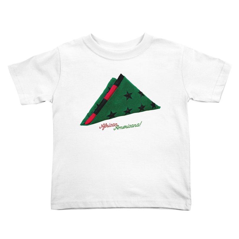 Black Flag Kids Toddler T-Shirt by FWMJ's Shop