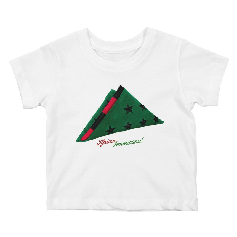 Black Flag Kids Baby T-Shirt by FWMJ's Shop