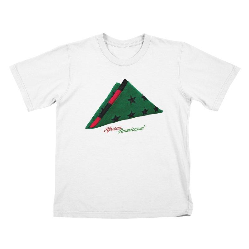 Black Flag Kids T-Shirt by FWMJ's Shop
