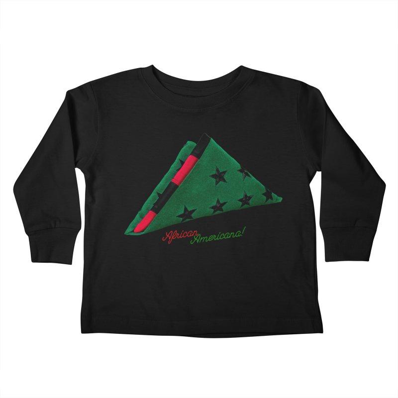 Black Flag Kids Toddler Longsleeve T-Shirt by FWMJ's Shop