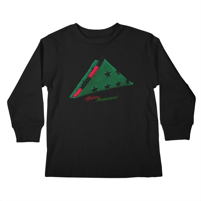 Black Flag Kids Longsleeve T-Shirt by FWMJ's Shop