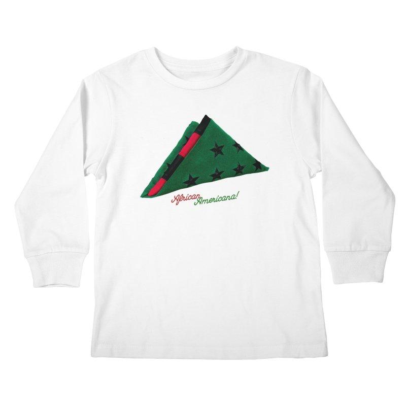 Black Flag Kids Longsleeve T-Shirt by FWMJ's Shop
