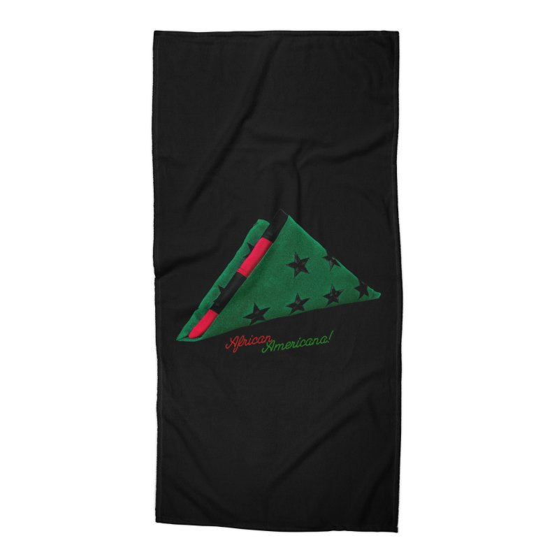 Black Flag Accessories Beach Towel by FWMJ's Shop