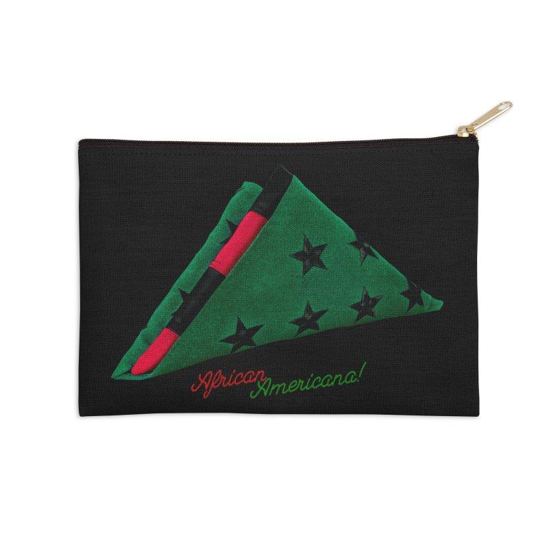 Black Flag Accessories Zip Pouch by FWMJ's Shop