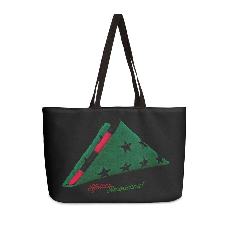 Black Flag Accessories Weekender Bag Bag by FWMJ's Shop