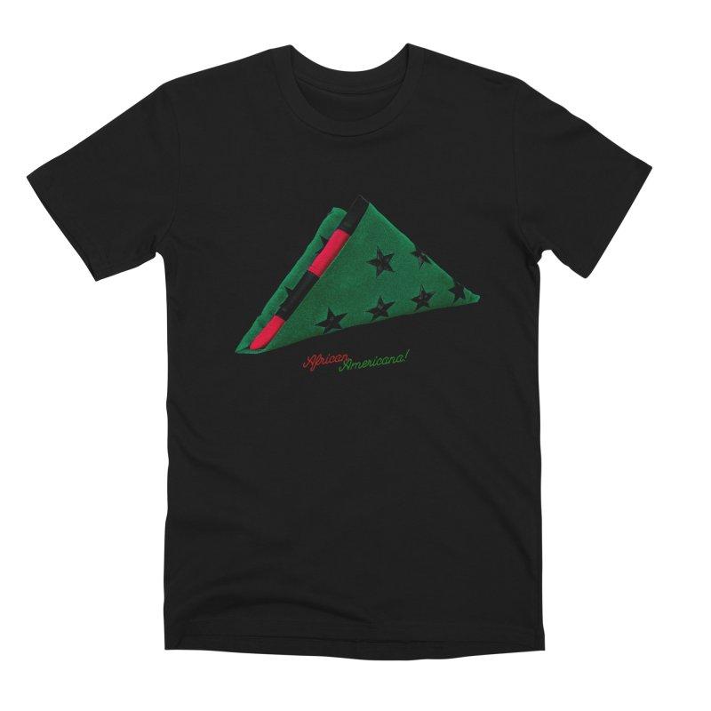 Black Flag in Men's Premium T-Shirt Black by FWMJ's Shop