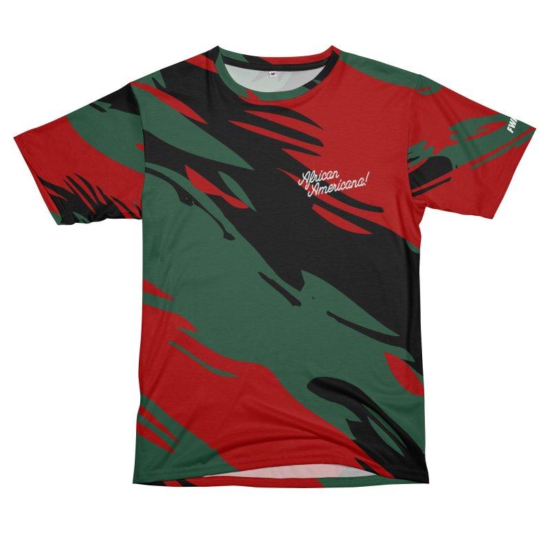 African Americana! in Men's T-Shirt Cut & Sew by FWMJ's Shop